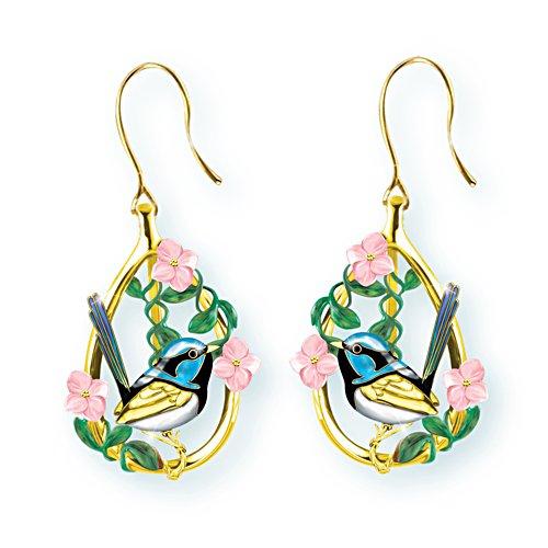 Fairy Wren Beauty Earrings