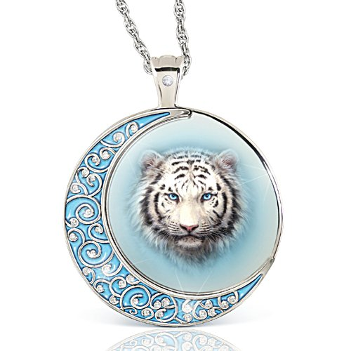 'Tiger Moon' Ladies' Diamond Pendant