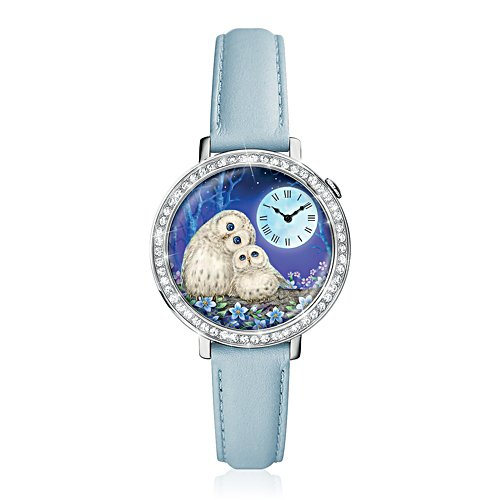 Always By Your Side Glow-In-The-Dark Ladies Watch