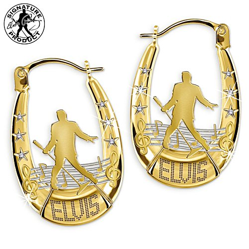 Elvis Presley™ Swarovski® Crystal Earrings