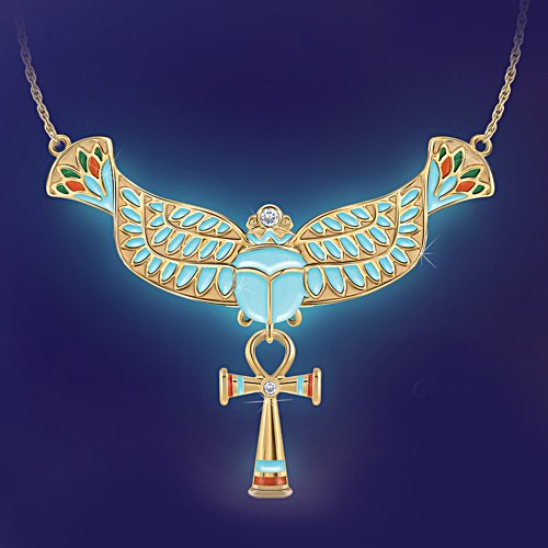 'Spirit Of Ancient Egypt' Glow-In-The-Dark Pendant
