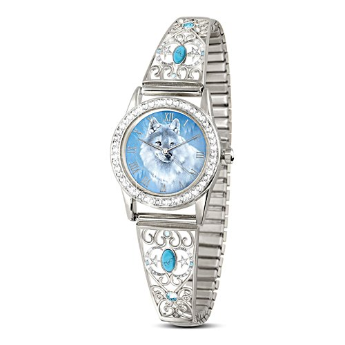 'Spirit Of The Wilderness' Turquoise Ladies' Stretch Watch