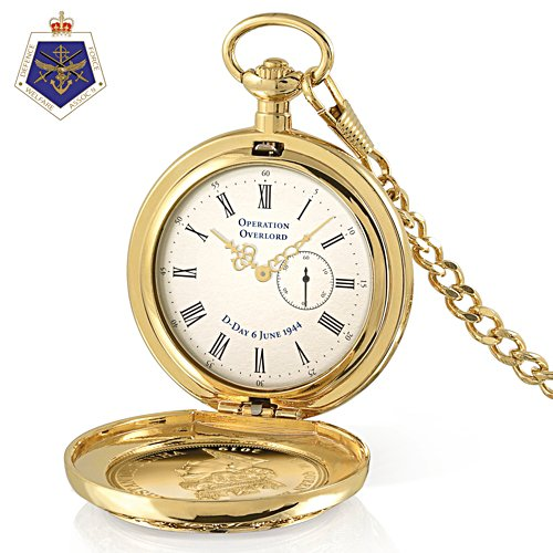 D-Day 75th Anniversary Commemorative Pocket Watch