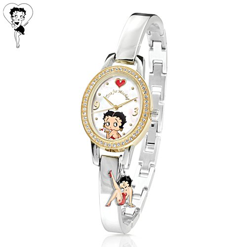 'Time For Mischief' Betty Boop Ladies Watch
