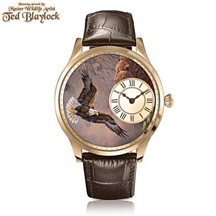 Ted Blaylock 'Soaring Spirit' Eagle Men's Watch