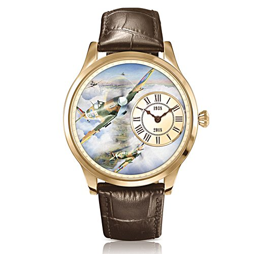 80th Anniversary Heroes of the Skies Gold-Plated Spitfire Watch