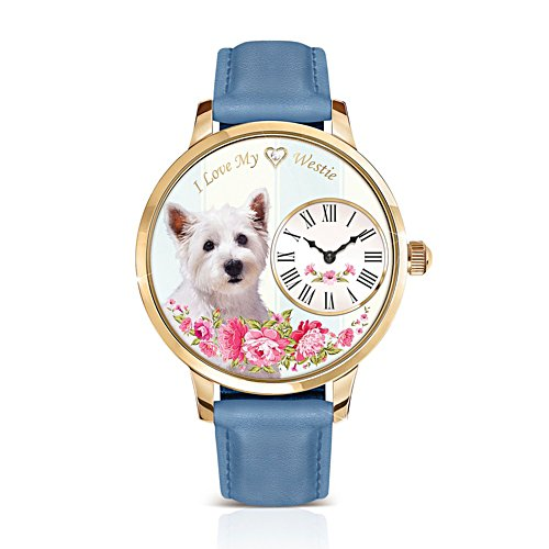Westie 'Playful Pup' Ladies' Watch