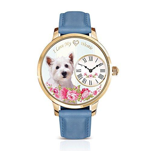 Westie 'Playful Pup' Ladies' Watch