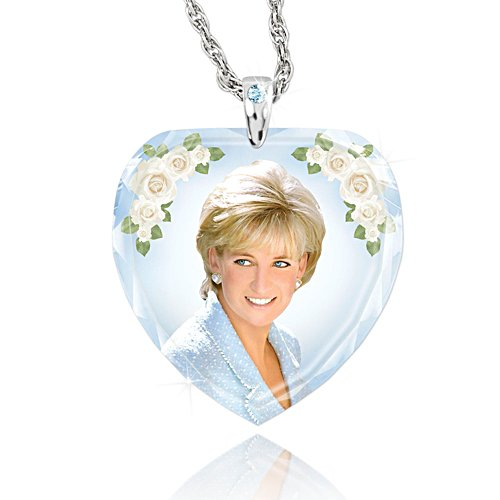 Diana 'Princess Of Hearts' Ladies' Pendant