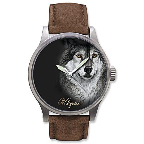 Al Agnew 'Eyes Of The Night' Wolf Watch