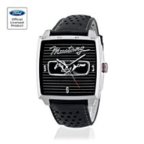 1966 Ford Mustang Fastback Men's Leather Watch