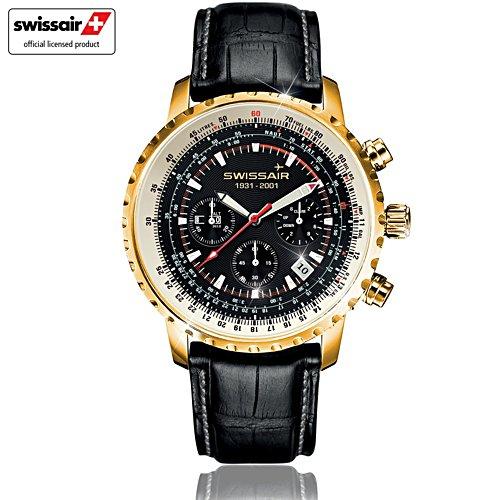 'Swissair Spirit' Men's Chronograph Watch
