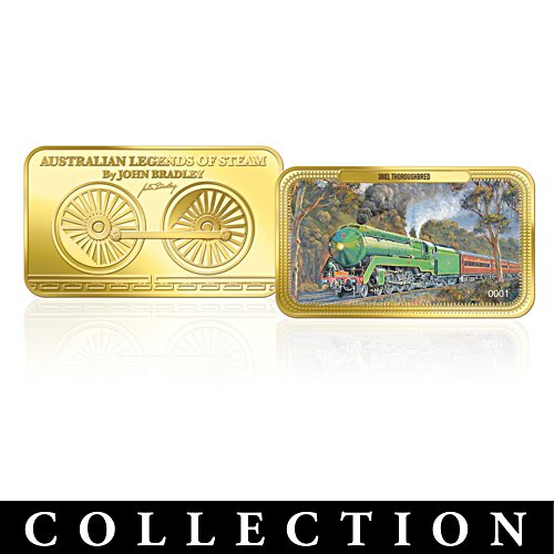 Australian Legends of Steam Ingot Collection