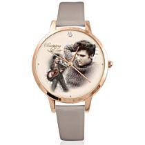 "Elvis Presley ""Burning Love"" Swarovski Crystal Women's Watch"
