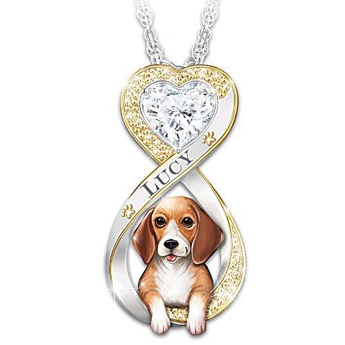 Mein Beagle, immer in meinem Herzen – Anhänger