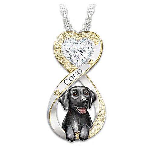 Mein schwarzer Labrador, immer in meinem Herzen – Anhänger