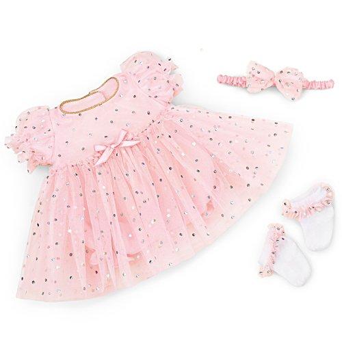 Festtags-Kleidchen — Festliches Puppen-Outfit