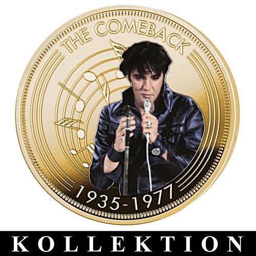 Das Leben einer Legende – Elvis Presley-Medaillenkollektion