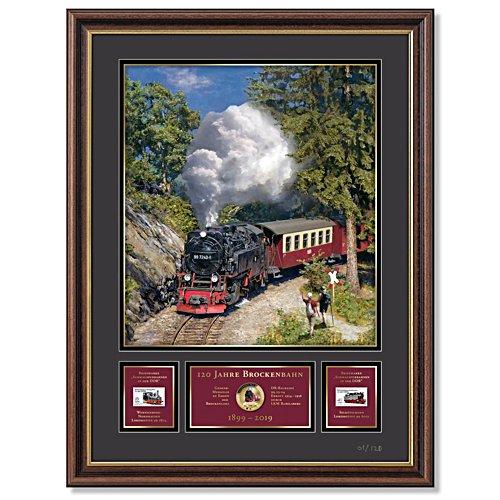 Die Brockenbahn Galerie-Edition – Sammler-Galeriebild