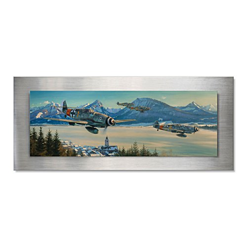 Bavarian Wolves – panoramisch wandschilderij