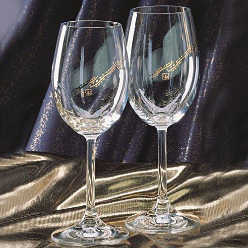 "Kunstenaars glazen ""Gustav Klimt"""