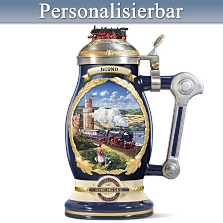 Rheingold – Legende auf Schienen – Bierkrug mit Namensgravur