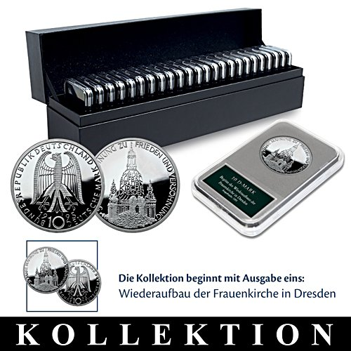 10-DM-Silbermünzen-Kollektion