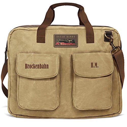 Op de rails met de Brockenbahn – gepersonaliseerde laptoptas