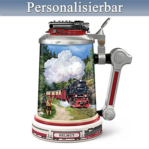 Ein Prosit auf die Brockenbahn – Personalisierter Bierkrug