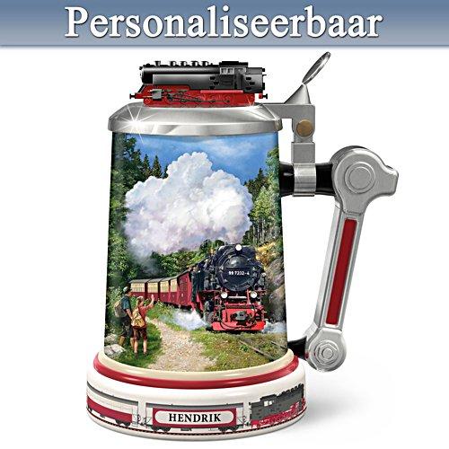 Een toost op  de Brockenbahn – Gepersonaliseerde bierkruik