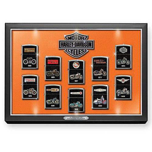 Jahrhundert des amerikanischen Donners – Harley-Davidson® Zippo® Kollektion
