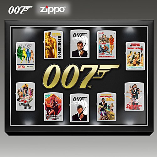 James Bond – Zippo-Kollektion