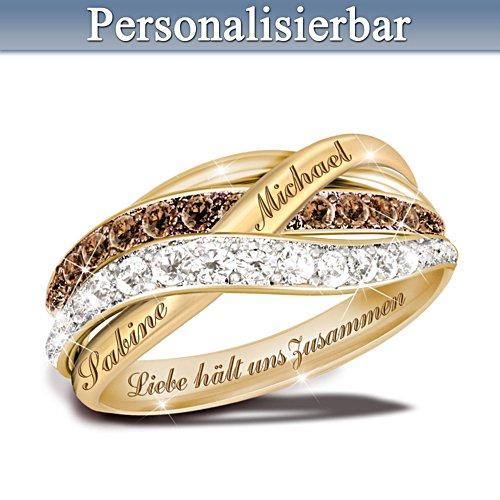 Liebe hält uns zusammen – Diamantring