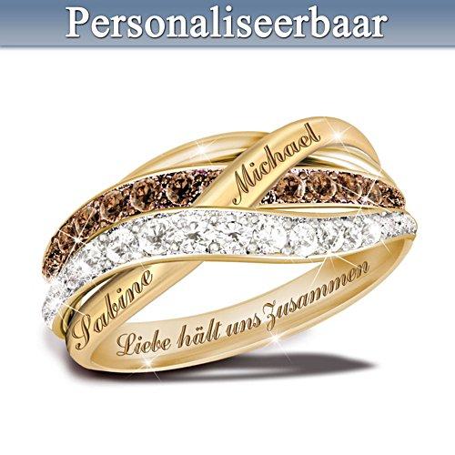 Liefde houdt ons bij elkaar – ring met diamanten