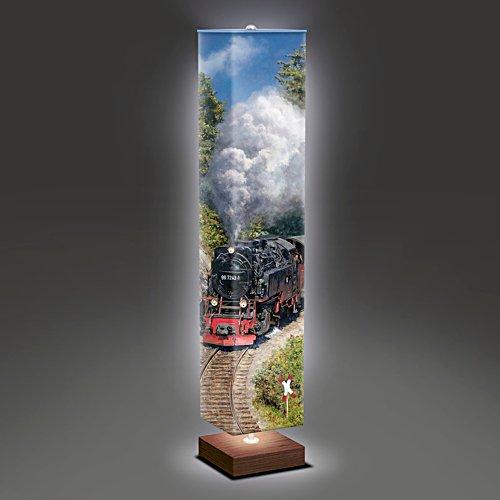 Dampf über dem Brocken – Stehlampe