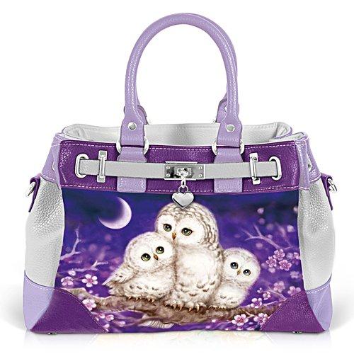 Hüterin der Nacht – Eulen-Handtasche