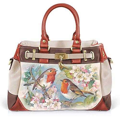 Rotkehlchen-Duett – Handtasche