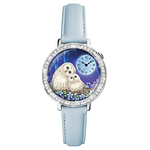 Immer an Deiner Seite – Armbanduhr mit Eulen-Motiv