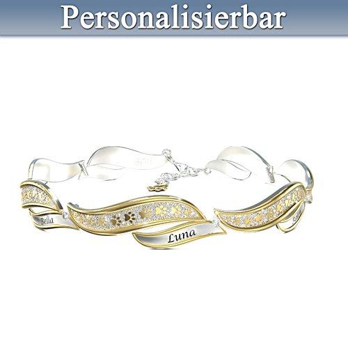 Treue Gefährten – Personalisiertes Armband