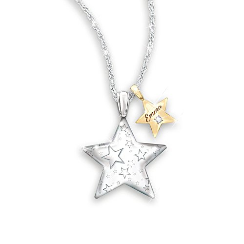 Du bist mein Stern – Personalisierbarer Anhänger