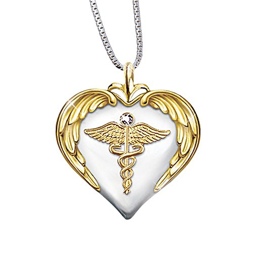 'Nurse's Serenity Prayer' Diamond Pendant