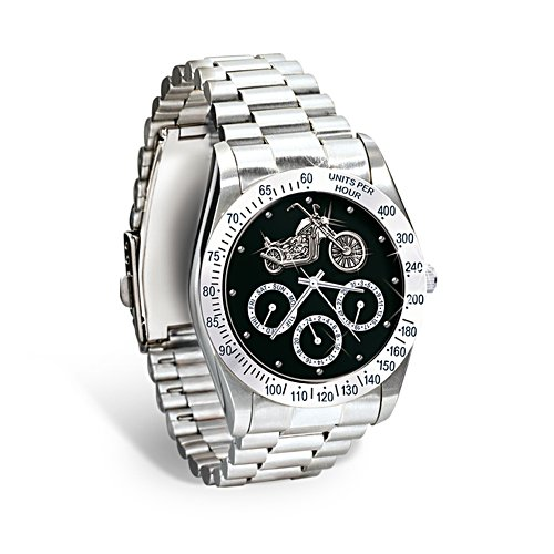 'Ride Hard, Live Free' Men's Chronograph