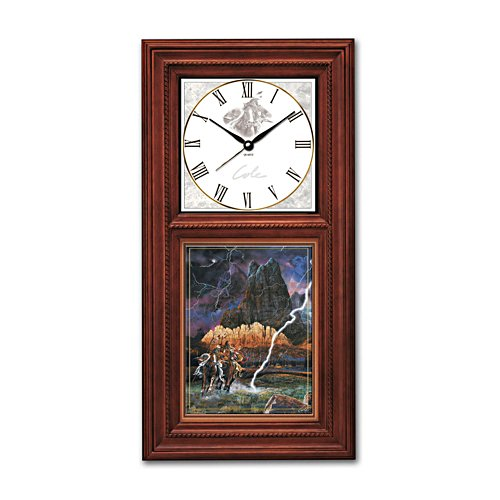 'Timeless Quest Of The Spirit' Wall Clock