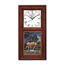 'Timeless Quest Of The Spirit' Wall Clock