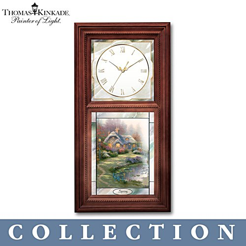 Thomas Kinkade 'Time For All Seasons' Clock Collection