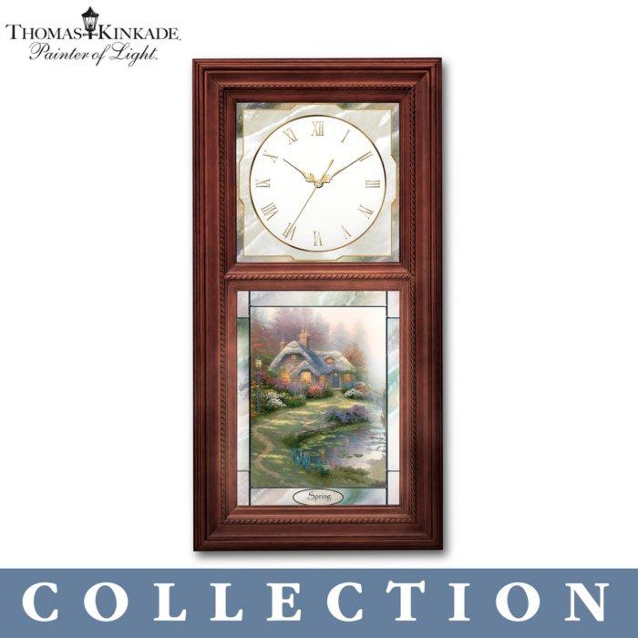 Thomas Kinkade 'Time For All Seasons' Clock Collection