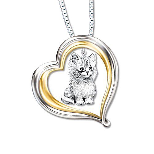 'Purr-fect Companion' Ladies' Pendant