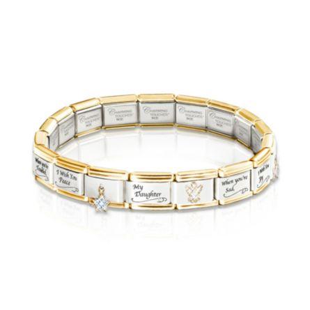 italian charm bracelet my i wish you