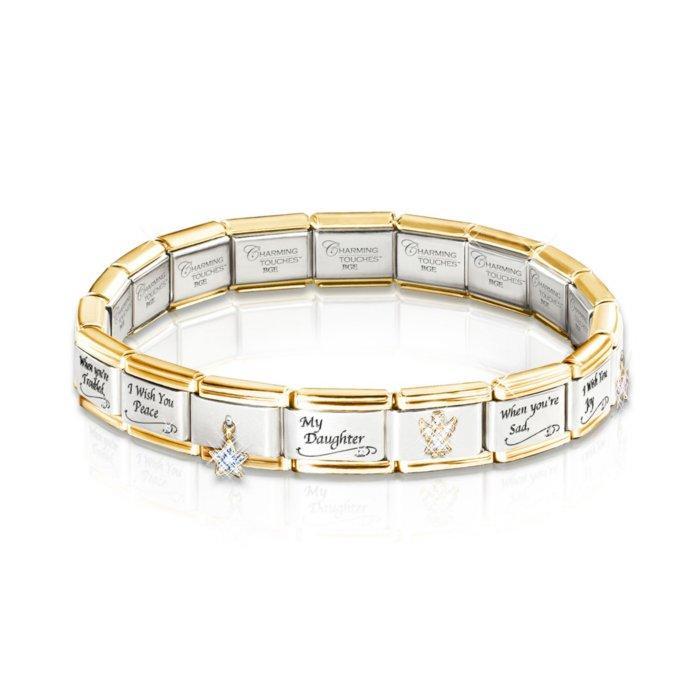 Charms & Charm Bracelets Italian Charm Hope Bracelet Be Novel In Design