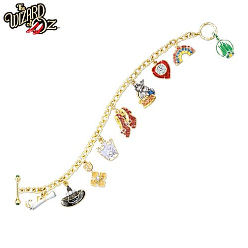 THE WIZARD OF OZ™ 'Over The Rainbow' Ladies' Charm Bracelet